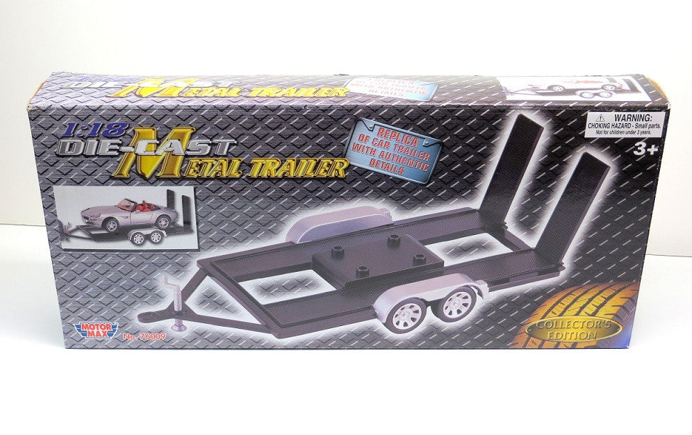 1 18 Scale Diecast Car Trailer Carrier Acapsule Toys And