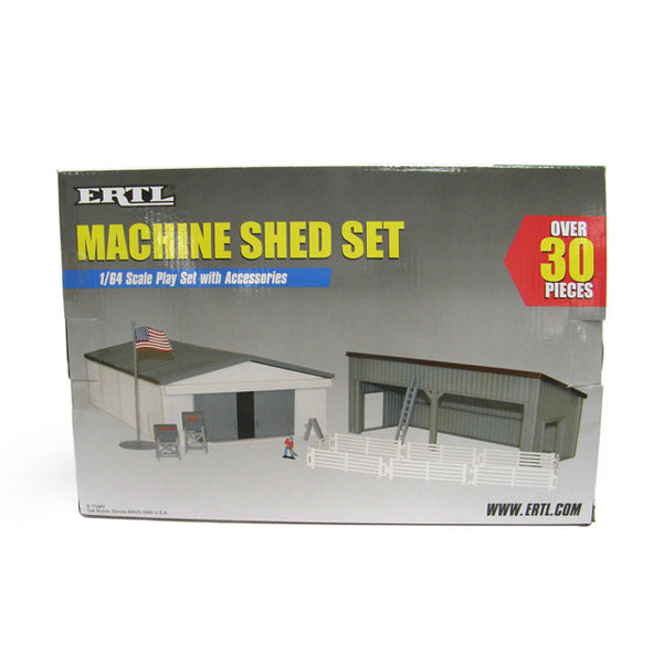 Ertl Farm Country Machine Shed Set