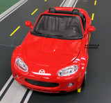 Red Mazda MX 5 1/24 Scale Diecast Model