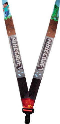 Minecraft Multicolor Lanyard