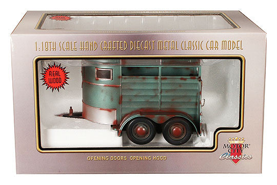 Motor City Classics - 1/18 Scale Diecast Weathered Horse Trailer