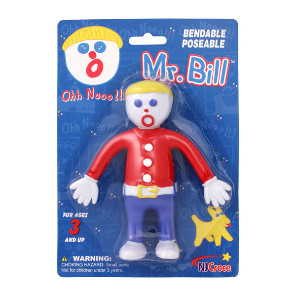 Mr. Bill 5in Bendable Poseable Figure