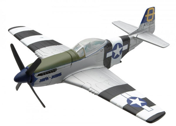Corgi Flight North American Mustang P51 1/72 Scale Diecast Model with Stand