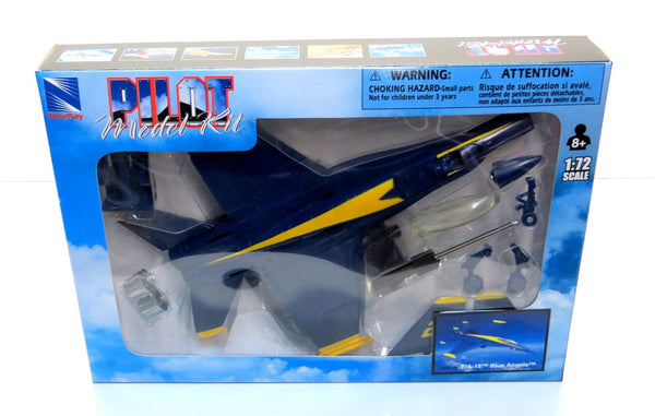 Sky Pilot F/A-18 Blue Angels 1/72 Scale Model (Snap fit)