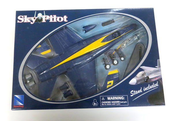 Sky Pilot Blue Angel Boeing F/A-18 Hornet 1/48 Scale Model (Snap fit)
