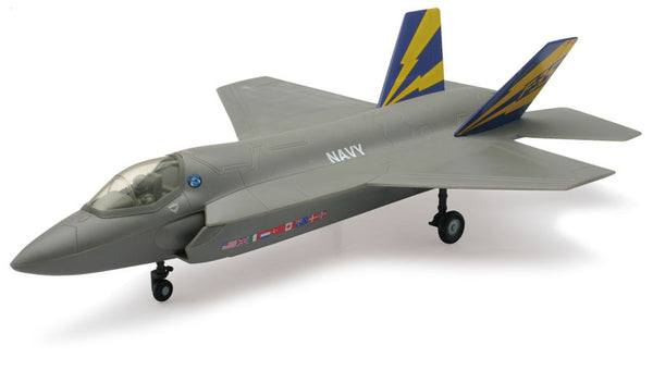 Sky Pilot Lockheed F-35C Navy 1/44 Scale Model (Snap fit)