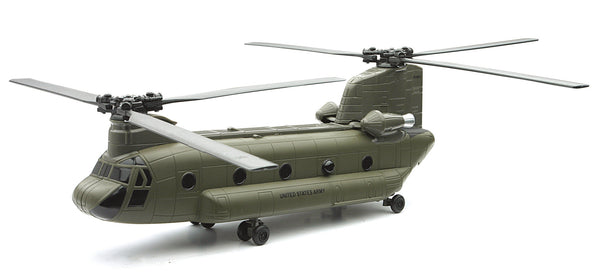 Boeing CH-47 Chinook 1/60 Scale Diecast Model with Stand