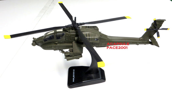 Apache AH-64 1/55 Scale Diecast Model with Stand