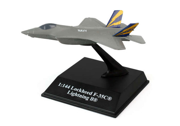 Sky Pilot Lockheed F-35A NAVY 1/144 Diecast Model with Stand
