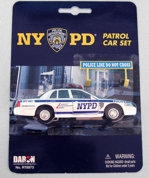 NYPD Police Highway Patrol Car 1/43 Scale