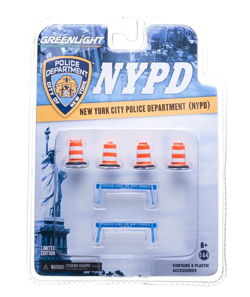 1/64 Scale NYPD Road Accessories