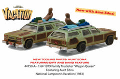 Wagon Queen Family Truckster Honky Lips Version with Aunt Edna from National Lampoon's Vacation 1/64 Diecast