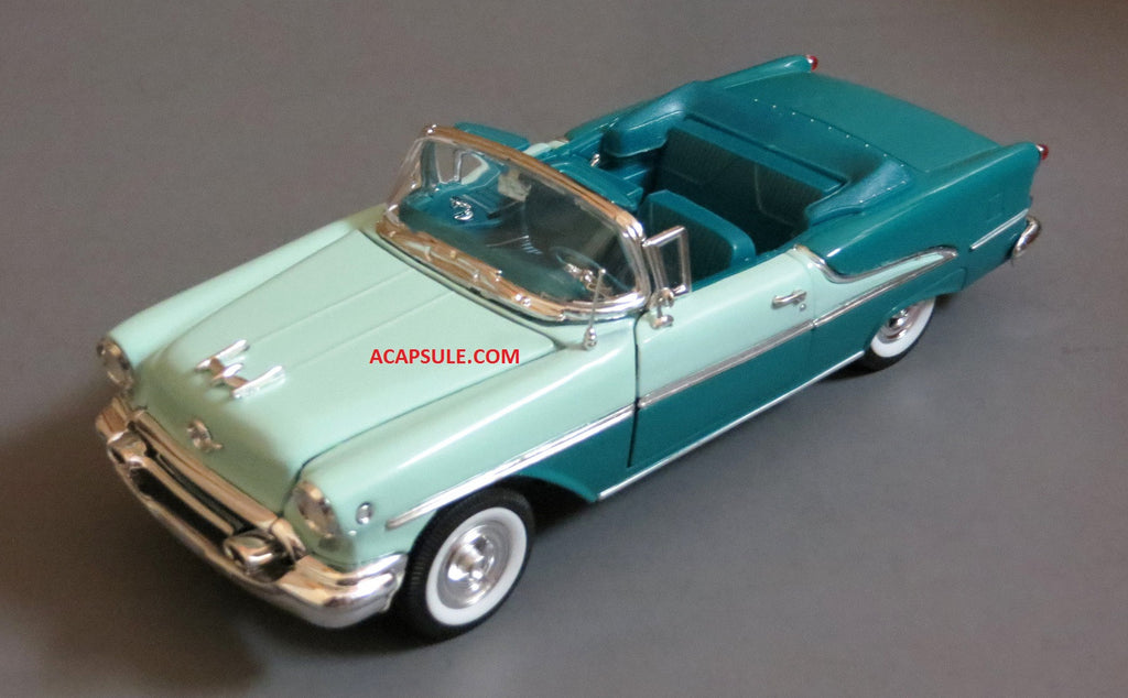 Green 1955 Oldsmobile Super 88 Convertible 1/24 Scale Diecast Model
