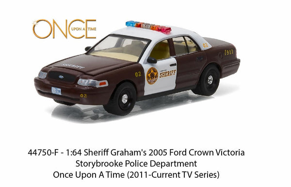 2005 Ford Crown Victoria Police Interceptor from Once Upon a Time 1/64 Scale Diecast