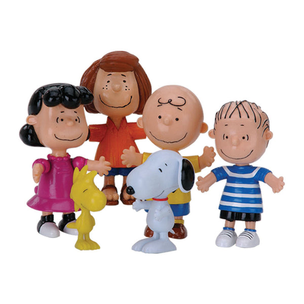 Peanuts and Gang Bendable Poseable Collectible Boxed Set