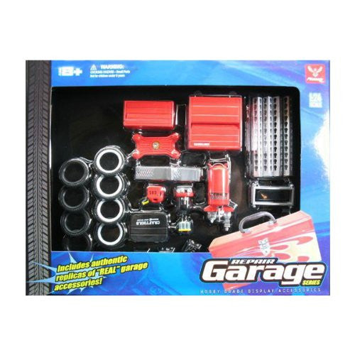Hobby Gear 1:24 Scale Repair Garage Shop Diorama Set