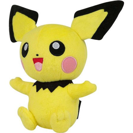 Pichu - Pokemon Basic 8 inch Plush