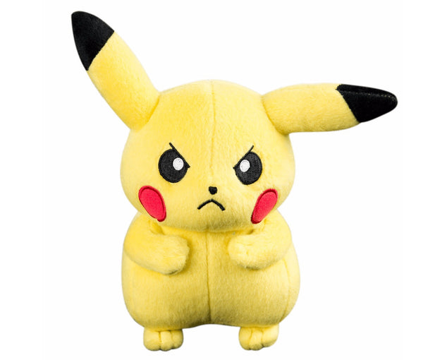 Angry Pikachu - Pokemon Basic 8 inch Plush