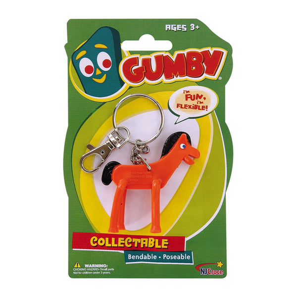 Pokey Bendable and Poseable Keychain