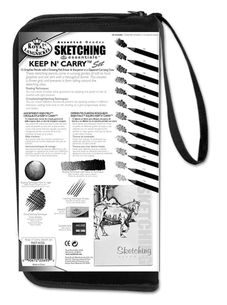 Royal & Langnickel Keep N Carry Sketching Set