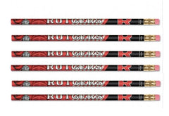 Rutgers Scarlet Knights Wooden Pencils 6 Pack