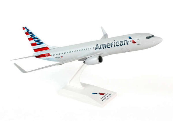 Skymarks American Airlines NEW LIVERY 737-800 1/130 Scale Model Plane with Stand