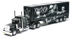 1/32 Scale Peterbilt 379 Gonzales Art Biker Babe Tractor Trailer Model
