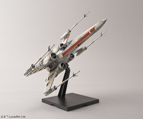 "Red Squadron X-Wing Starfighter Special Set ""Rogue One"", Bandai Star Wars Plastic Model"