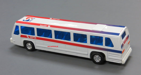 Philadelphia Septa Public Diecast Bus Toy