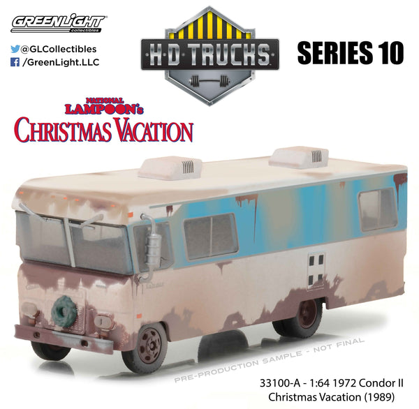 Nat Lampoon Christmas Vacation 1972 Condor II 1/64 Diecast Model by Greenlight