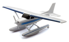 Sky Pilot Cessna 172 Skyhawk with Floats 1/42 Scale Model (Snap fit)
