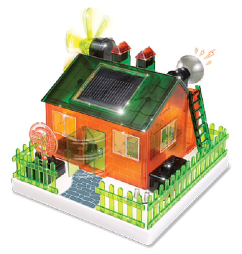 Do It Yourself Amazing Eco House Solar Science Kit