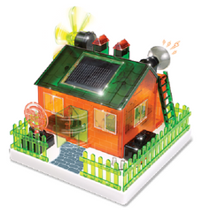 Do It Yourself Amazing Eco-House Solar Science Kit