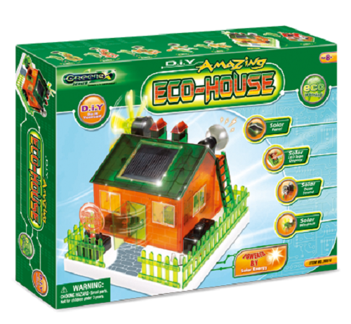 Do it yourself amazing eco house solar science kit for Eco home kits