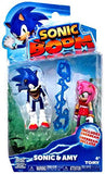 Sonic Boom Sonic & Amy 3 inch Action Figures