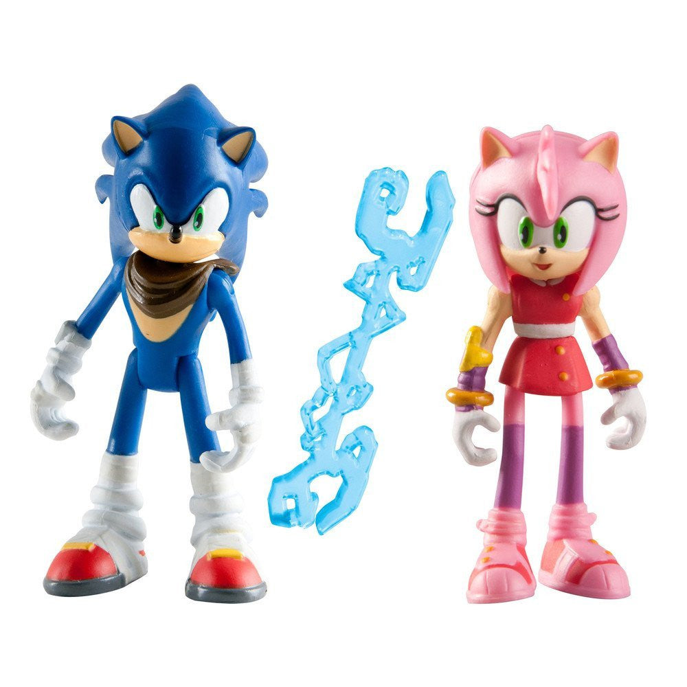 Sonic Boom Sonic Amy 3 Inch Action Figures Acapsule Toys And Gifts