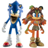 Sonic & Sticks 3 inch Action Figures