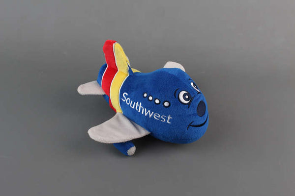 Southwest Airlines Heart Airplane Plush with Sound