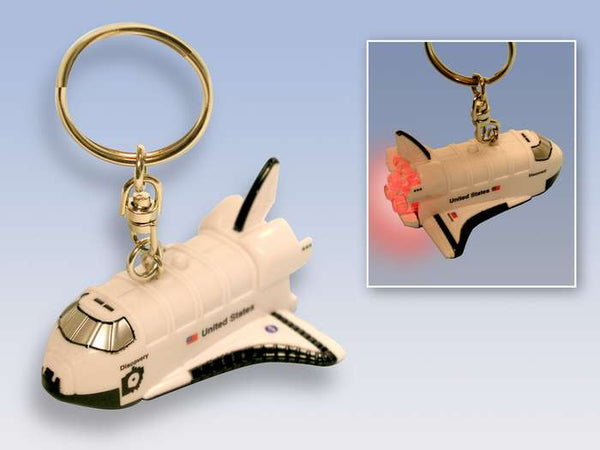 NASA Space Shuttle Keychain with lights and sound