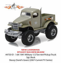 1941 Military 1/2 Ton 4 x 4 from Stacey David's GearZ 1/64 Diecast