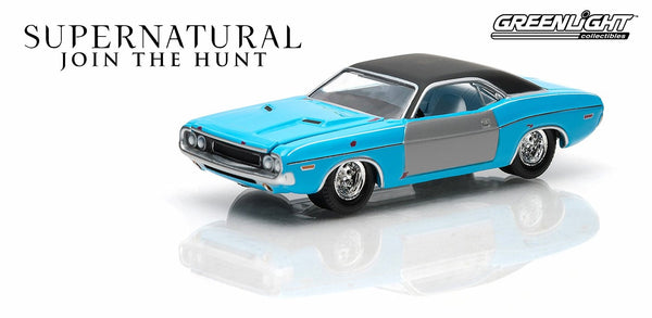 1970 Dodge Challenger from Supernatural 1/64 Scale Diecast Car