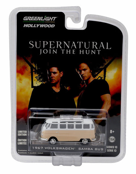 1967 Volkswagen Samba Bus from Supernatural 1/64 Diecast