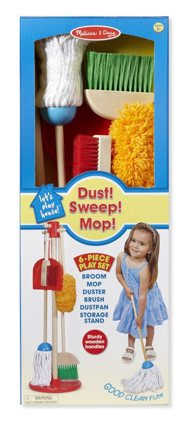 Let's Play House! Dust, Sweep and Mop