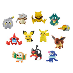 Pokemon Alola Region Multi Figures Pack 2 Inches Figures Set of 12