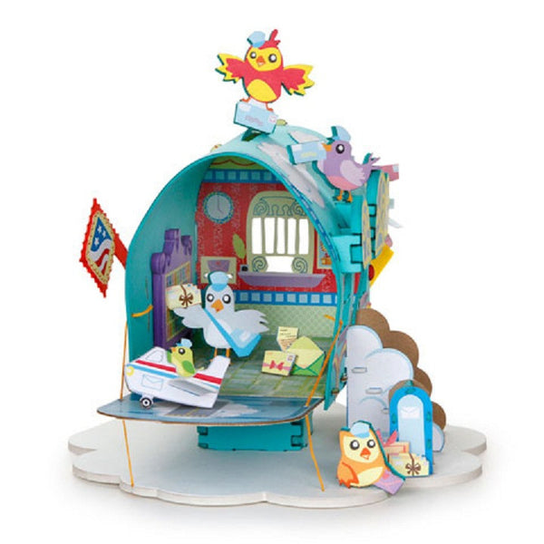 Feathered Friends Post Office 3-D Playtown Creativity Kits