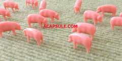 Ertl 1/64 Scale Pink Pigs Bulk Bag of 25