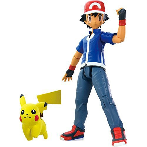 Pokemon XY Trainer Figure, Ash and Pikachu