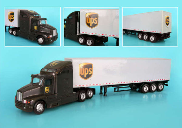 UPS Die cast Tractor Trailer 1/64 Scale