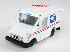 United States Postal Service Long Life Vehicle LLV 1/64 Diecast Model with Mailbox by Greenlight