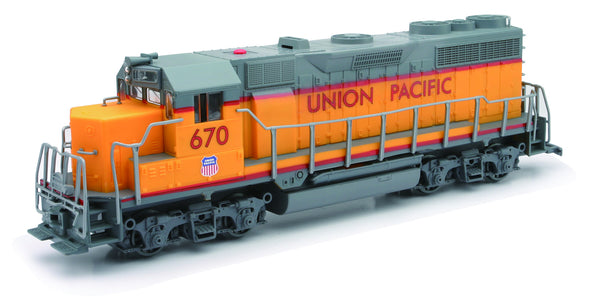 Union Pacific Emd Gp40 Diesel Locomotive with Lights and Sounds 1/32 Scale